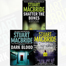 Stuart MacBride Collection Logan McRae Series 3 Books Set Pack NEW