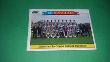 """Figurina calciatori """" Figurone Score """"1992/93 n.15 Juventus Coppa UEFA"""