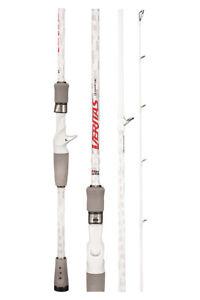 "Abu Garcia Veritas V4 Spin Graphite Fishing Rod 7'8"" PE0.4-1.0 EGI 2 piece 782UL"