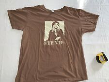 Stevie Nicks T-shirt brown Sized Large Mint Condition Fleetwood Mac