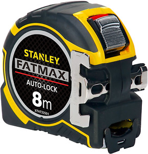 Stanley FatMax® XTHT0-33501 Auto-Lock 8m Metric Tape Measure 32mm Wide Blade