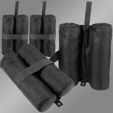4x Empty Gazebo Leg Sandbag Weights - Weighted Feet For Tent Marquee Anchors