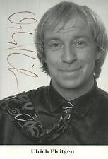 Autogramm - Ulrich Pleitgen