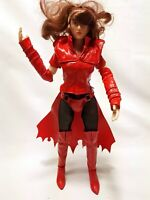 """ZC Girls Custom Scarlet Witch Red outfit 1:6th Figure 12"""" COLLECTABLE"""