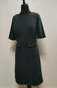 BODEN dress UK12 R, green, short sleeve, A style, used in vgc