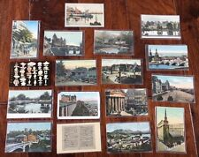 Vintage Postcards Lot of 23, Foreign & Domestic, 1930s -1980s