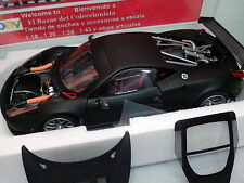 1:18 Ferrari 458 Italia  GT2 Matt Black     - Hot Wheels  Elite - 3L 050