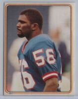 1983 Topps Album Stickers Lawrence Taylor #280 HOF