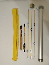 VTG Eagle Claw Wright McGill Fishing Rod  4 sections  7' 6""