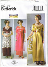 Edwardian Dress 20th Century Historical Costume Sewing Pattern 14 16 18 20 22
