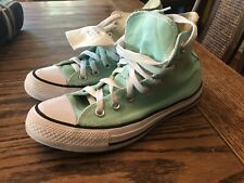 Converse All Star Chuck Taylor Hi Top Sneakers Shoes 136561F Beach Glass Women 6