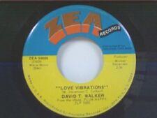 """DAVID T WALKER """"LOVE VIBRATIONS / DOO DOO"""" 45"""