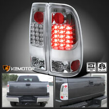 2008-2016 Ford F250 F350 F450 F550 SuperDuty Chrome Clear LED Tail Lights Lamps