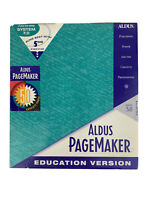 ALDUS PageMaker Version 5.0 Hard Disk Education Version Macintosh Publishing VTG