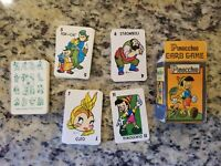 Vintage Russell Library of Games Disney PINOCCHIO Card Game Vol 2 1946 FREE S/H