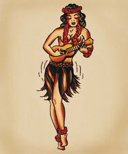 Sailor Jerry Tattoo Art 14 x 11 Photo Print ...