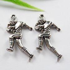 Free Ship 150pcs tibetan silver sportsman charms 29x16mm