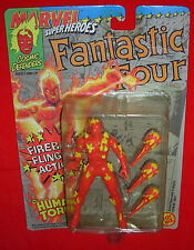 The Human Tourch Marvel Super Heroes Fantastic Four Toy Biz 1992