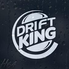 Drift King coche decal pegatina de vinilo