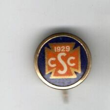 1929 CSC vintage pinback button pin