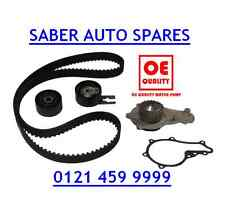 TIMING/CAM BELT KIT & WATER PUMP FOR PEUGEOT 206 1.4 HDI DIESEL 02-
