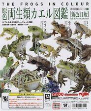 原色兩生類圖鑑青蛙Yujin The Frogs in colour 12+3sp(aquarium fish squid insect