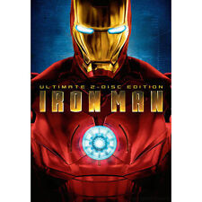 Iron Man SDCC Limited Edition (DVD, 2008, 2-Disc Set, Ultimate Edition)