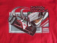 Darren MANNING 2003 INDYCAR Series Ganassi Racing Rare Red T shirt Mens M Medium