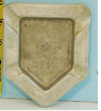Stegmaier's Goldmedal Beer Baseball Home Plate Metal Tray Wilkes Barre Pa