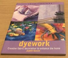 DYEWORK Judith Gussin Book (Paperback) NEW