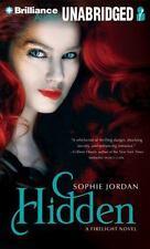 BOOK/AUDIOBOOK CD Age 12+ Sophie Jordan Fiction Firelight Novel HIDDEN