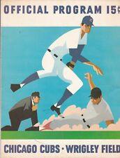JB: 1970 Chicago Cubs/NY Mets Baseball Official Scorecard - Scored & Autog.