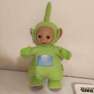 "Vintage 1998 TALKING Dipsy Teletubbies Playskool Green - Plush - 18"""