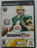 NFL Madden 09 PS2 Game 2008 Electronic Arts