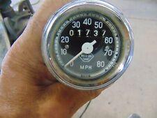"New listing Vintage Moto Ski Speedometer 60""S 70""S"