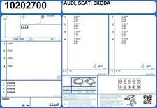 Full Engine Gasket Set AUDI A3 SPORTBACK TFSI 16V 1.4 110 CPWA (11/2013-)