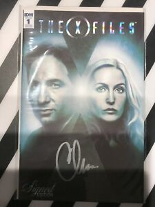 IDW X-Files #1 Signed Ed (Signed By Chris Carter) 1:50 Ratio Variant Very Rare