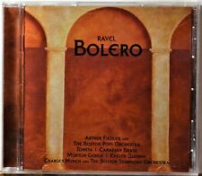 CD Ravel Bolero Fiedler Boston Pops Tomita Canadian Brass Gould Munch NICE
