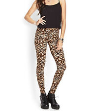 37% OFF AUTH FOREVER 21 LEOPARD PRINT LEGGINGS BNEW SMALL SRP US$ 10.80+