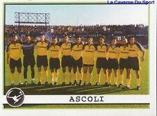 640 ASCOLI CALCIO TEAM SQUADRA ITALIA  STICKER CALCIATORI 2002 PANINI
