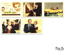 The Solid Gold Cadillac Lobby Card Set of 5 - Judy Holiday - 1956  - VF
