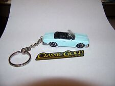 CUSTOM MADE..KARMANN GHIA TYPE 34 (BABY BLUE/BLACK)..KEYCHAIN..GREAT GIFT!