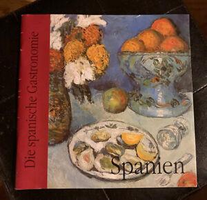 """Broschur """"Spanien - Die spanische Gastronomie"""" Rezepte"""