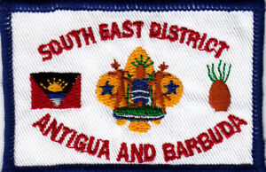 Boy Scout Badge SOUTH EAST DISTRICT Antigua & Barbuda