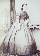 Victorian Carte de Visite Card Photograph by Yerbury & Stewart