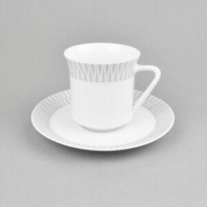 Thomas Porzellan - Tasse & Untertasse - Kaffeetasse - Vintage - Gedeck