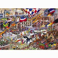 GIBSONS I LOVE THE WEEKEND 1000 PIECE MIKE JUPP CARTOON JIGSAW PUZZLE