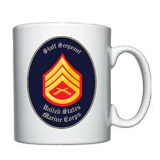USMC - United States Marine Corps - Staff Sergeant - Personalised Mug