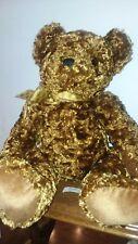 Animal Alley TEDDY Bear Plush Toys R Us Gold Bow Excellent Teddy Bear! 2000