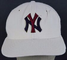 Tan New York Yankees embroidered baseball hat cap fitted.